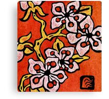 blossom detail Canvas Print