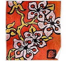 blossom detail Poster