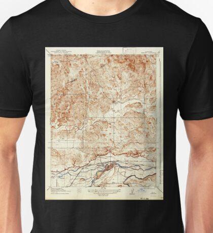 USGS TOPO Map California CA Snelling 301523 1918 31680 geo Unisex T-Shirt