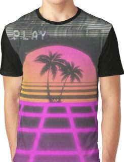 Neon Tropics Graphic T-Shirt