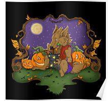 Werewolf Halloween  Poster