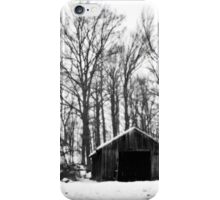 Forest Shed iPhone Case/Skin