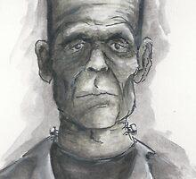 Frankenstein...Mmmm. by EchoSoloArt