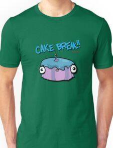 CAKE BREAK (down) Unisex T-Shirt