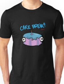 CAKE BREAK (down) Unisex T-Shirt