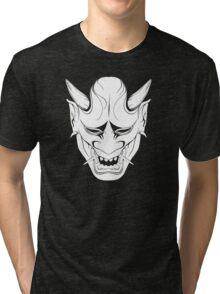 Hannya oni Tri-blend T-Shirt