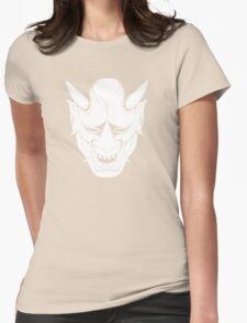 Hannya oni Womens Fitted T-Shirt