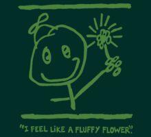 """""""FLUFFY FLOWER"""" SWAG - GREEN INK by farbantlix"""