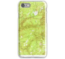 USGS TOPO Map California CA Sly Park 300539 1952 24000 geo iPhone Case/Skin