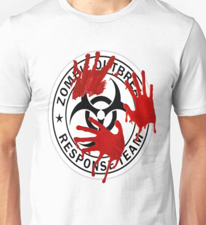 Zombie Response Team - Wipe Out Unisex T-Shirt