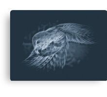 Glowing Scales Canvas Print
