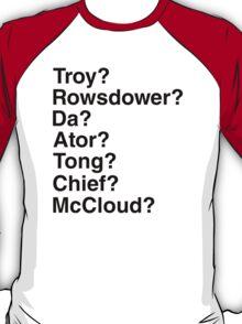 Cave Callbacks! (Light Shirts) T-Shirt