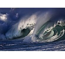 Winter Waves At Waimea Bay 6 Photographic Print