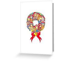A Fairy Tail Christmas  Greeting Card