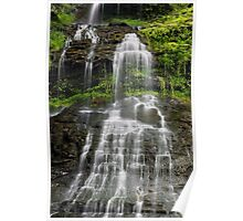 Cathedral Falls in West Virginia Poster
