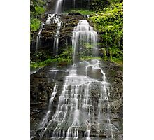 Cathedral Falls in West Virginia Photographic Print