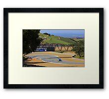 MX5 Laguna Seca Framed Print