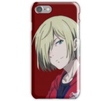 Smiling Yurio iPhone Case/Skin