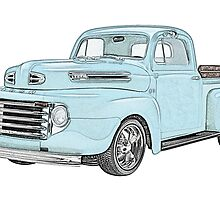 1950 Ford F1 Pickup by surgedesigns