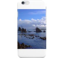 Oregon Coast on a Clear Day iPhone Case/Skin