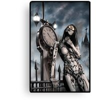 Steampunk Painting 003 Canvas Print