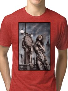 Steampunk Painting 003 Tri-blend T-Shirt