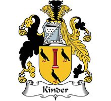 Kinder Coat of Arms (English) Photographic Print