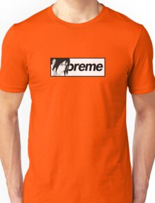 Supreme x Naruto Sasuke Parody Small Box Logo Tee Unisex T-Shirt
