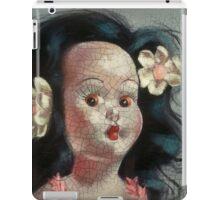 I'm Fine #9, (Hawaiian Doll) iPad Case/Skin