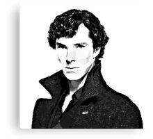 Sherlock Holmes Canvas Print