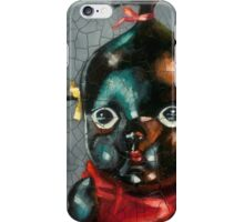 I'm Fine #5, (Antique Traditional Pikinini Doll) iPhone Case/Skin