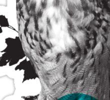 Hipster Owl - sticker Sticker