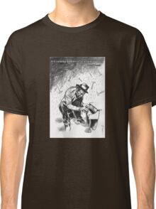 Tom Waits - Illustration Classic T-Shirt