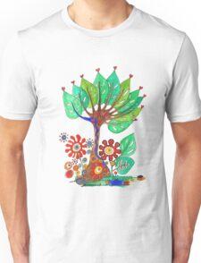 Tree of Hearts Unisex T-Shirt