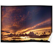 Soft Summer Sunset Poster