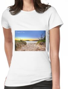 Coffs Jetty Womens Fitted T-Shirt