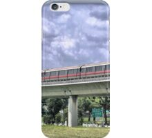 A Train Ride to the Gardens of China & Japan. iPhone Case/Skin