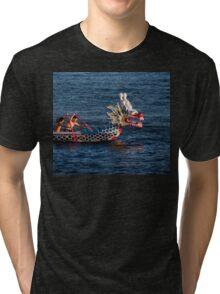 Dragon boat race Tri-blend T-Shirt