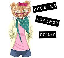 Pussies Against Trump Photographic Print