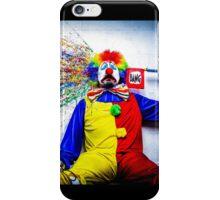 tears of a clown iPhone Case/Skin