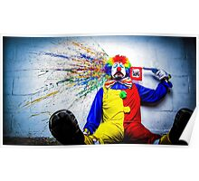 tears of a clown Poster