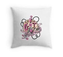 2014 P.ink Day: I Got P.INK'd Throw Pillow