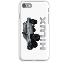 Toyota Hilux N60 Side iPhone Case/Skin