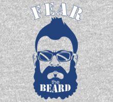 BRIAN WILSON FEAR THE BEARD Soft T-Shirt LA Dodgers Los Angeles MLB GREY TEE by beardburger