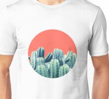 Catcus on Coral #redbubble #lifestyle Unisex T-Shirt