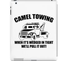 Camel Towing Mens T-Shirt Tee Funny Tshirt Tow Service Toe College Humor Cool iPad Case/Skin