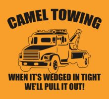 Camel Towing Mens T-Shirt Tee Funny Tshirt Tow Service Toe College Humor Cool by beardburger