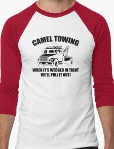 Camel Towing Mens T-Shirt Tee Funny Tshirt Tow Service Toe College Humor Cool Men's Baseball ¾ T-Shirt