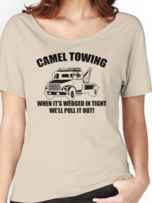 Camel Towing Mens T-Shirt Tee Funny Tshirt Tow Service Toe College Humor Cool Women's Relaxed Fit T-Shirt