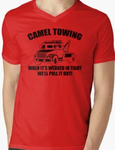 Camel Towing Mens T-Shirt Tee Funny Tshirt Tow Service Toe College Humor Cool Mens V-Neck T-Shirt